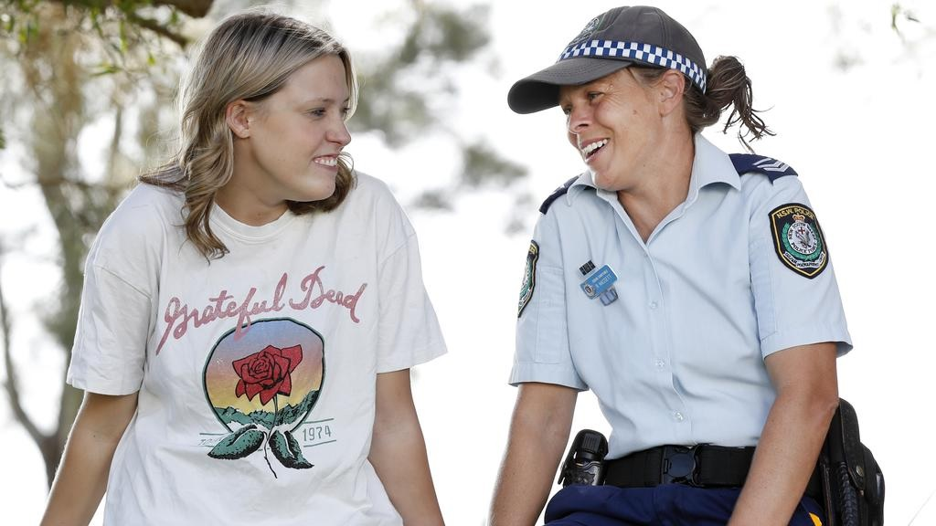 Police and Aboriginal teens tackle a big job as part of NSW Police's RISEUP strategy