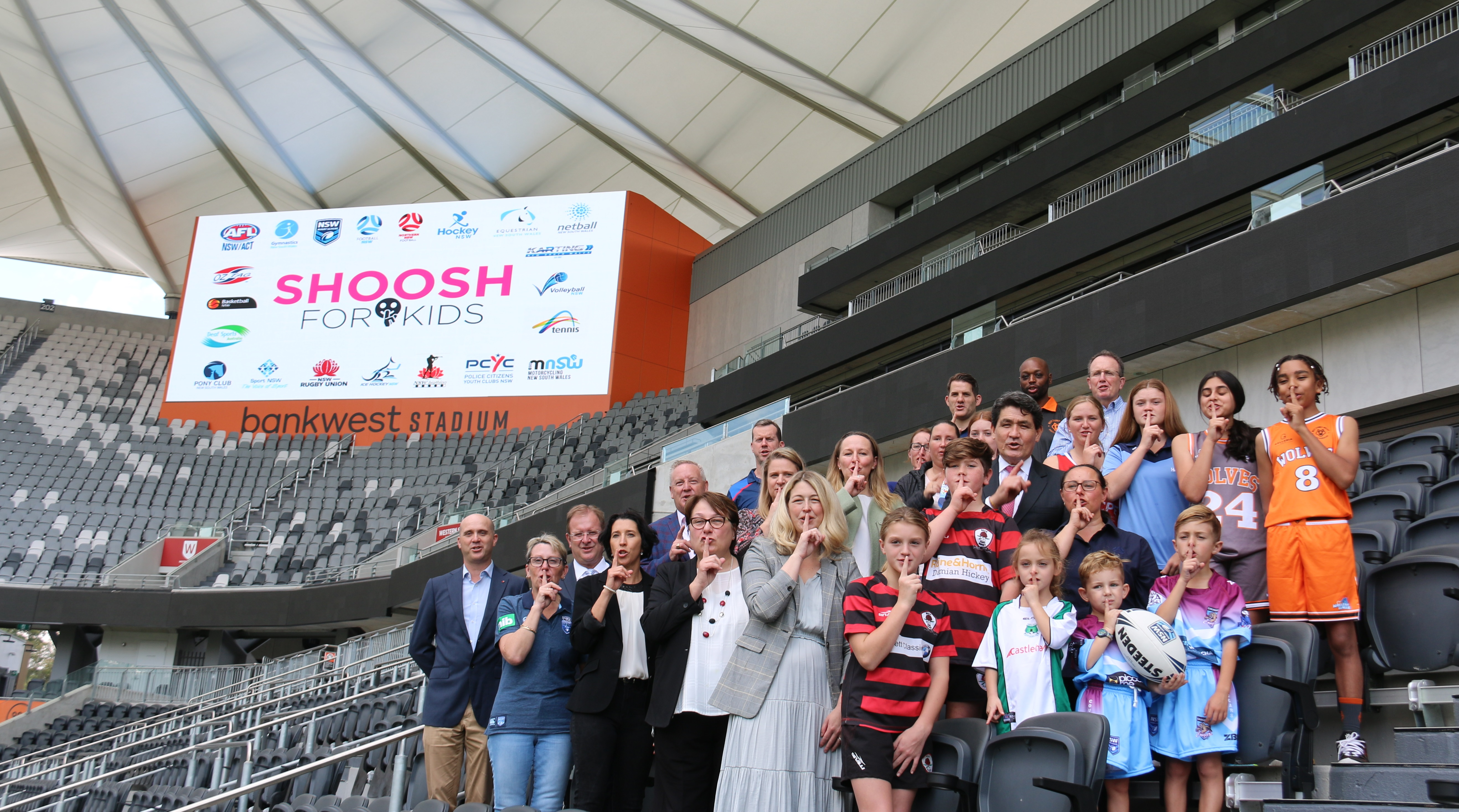 PCYC NSW joins campaign to Shoosh for Kids