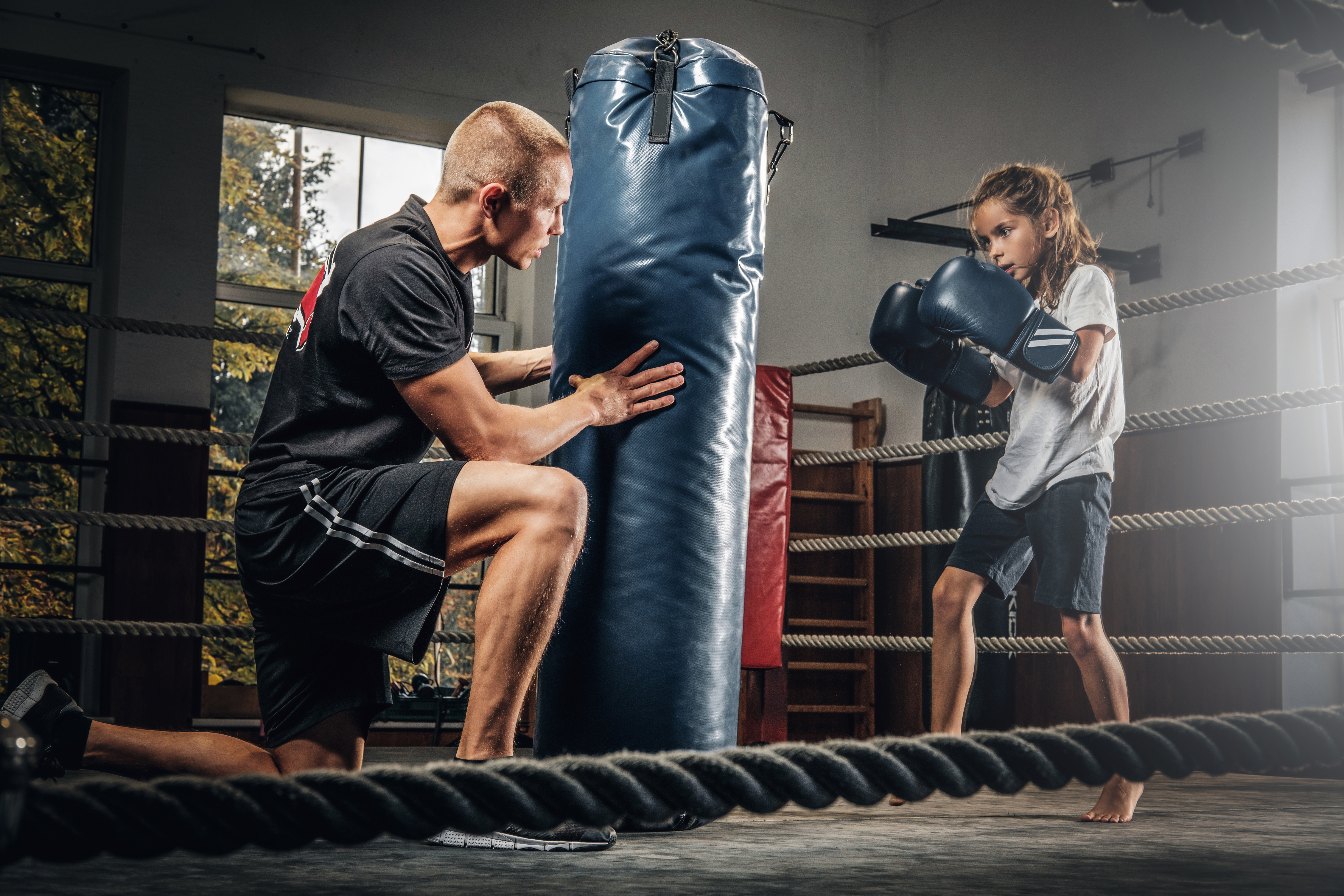 Step into the ring and feel the benefits of youth boxing