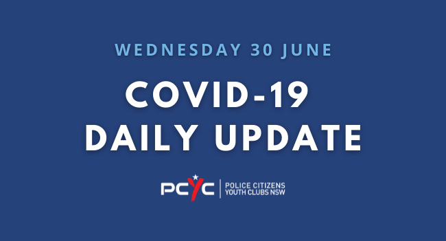 COVID-19 Updates: No new restrictions, QR codes to be mandatory   Wednesday 30 June