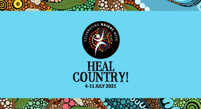 PCYC NSW celebrates NAIDOC Week 2021 - Heal Country   4th - 11th July