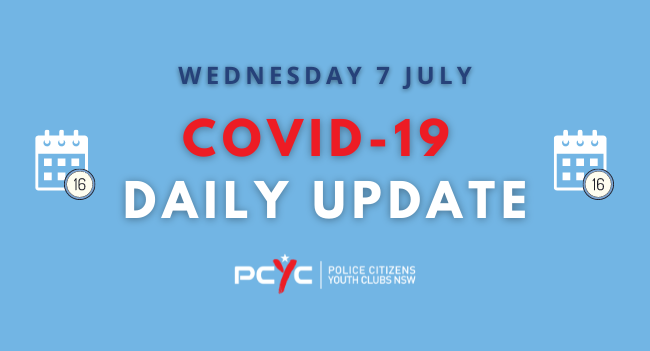 COVID-19 Updates: Greater Sydney lockdown extended   Wednesday 7 July
