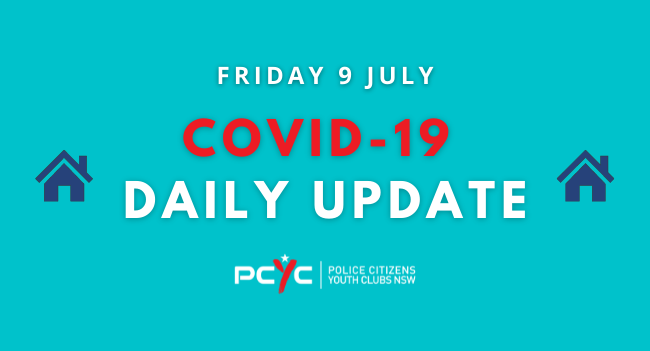 COVID-19 Updates: New restrictions in place for Greater Sydney   Friday 9 July