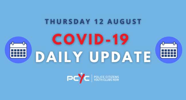 COVID-19 Updates: Further areas of regional NSW to go into lockdown | Thursday 12 Aug