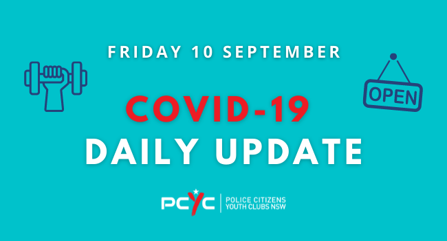 Covid-19 Update: Gyms at Tweed Heads, Grafton and Coffs Harbour to re-open Saturday 11 September