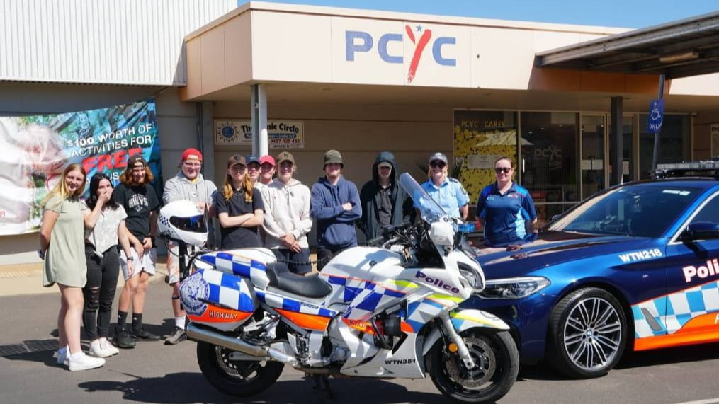 Traffic Highway Patrol Command join Dubbo PCYC Fit 4 Work program